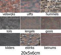 20x5x6cm-sierklinkers