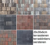 30x20x6cm-sierbestrating