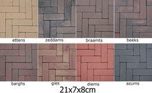 21x7x8cm-sierklinkers