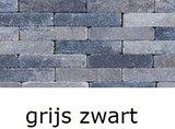 betonklinkers 20x5x7cm getrommeld waalformaat grijs zwart