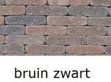 betonklinkers 20x5x7cm getrommeld waalformaat bruin zwart