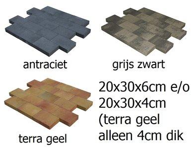 20x30x4 20x30x6 vlaksteen terrasstenen