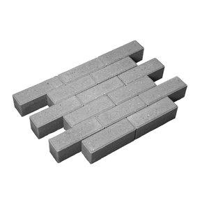 21x7x8cm grijs dikformaat