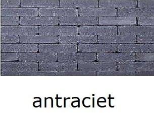 betonklinkers antraciet 20x5x7cm getrommeld waalformaat