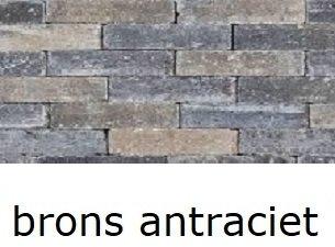 betonklinkers 20x5x7cm getrommeld waalformaat brons antraciet