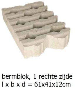 bermblok grastegel beton 61x41x12cm
