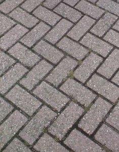 21x10,5x8cm voorbeeld betonklinkers antraciet
