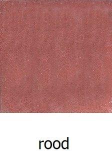 50x50x5cm betontegel rood