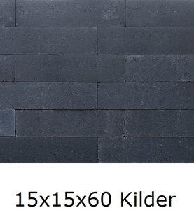 15x15x60cm stapelblok wallblock antraciet kilder