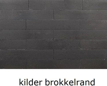 12x12x60cm stapelblok wallblock antraciet kilder brokkelrand