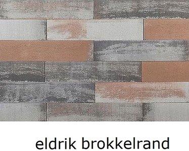 12x12x60cm stapelblok wallblock Texels bont eldrik brokkelrand