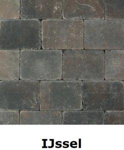 20x15x6cm bruin-zwart IJssel