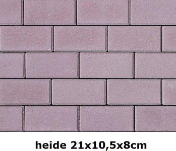 21x10,5x8cm heide volledige kleuring