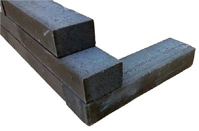 10x15x60cm linia palissade nero excluton