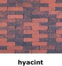 20x5x7cm kobblestone tuinvisie rood-zwart hyacint